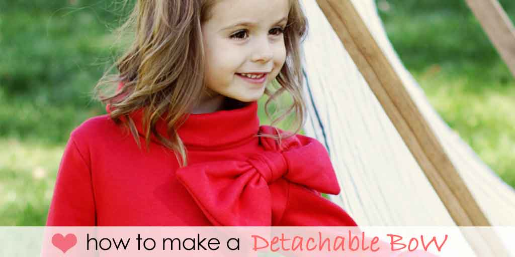 how to make a detachable bow