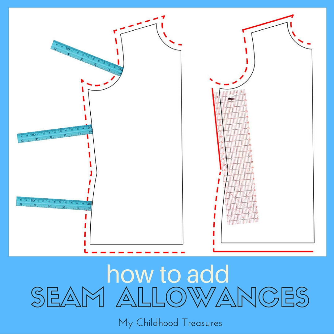 how to add seam allowance