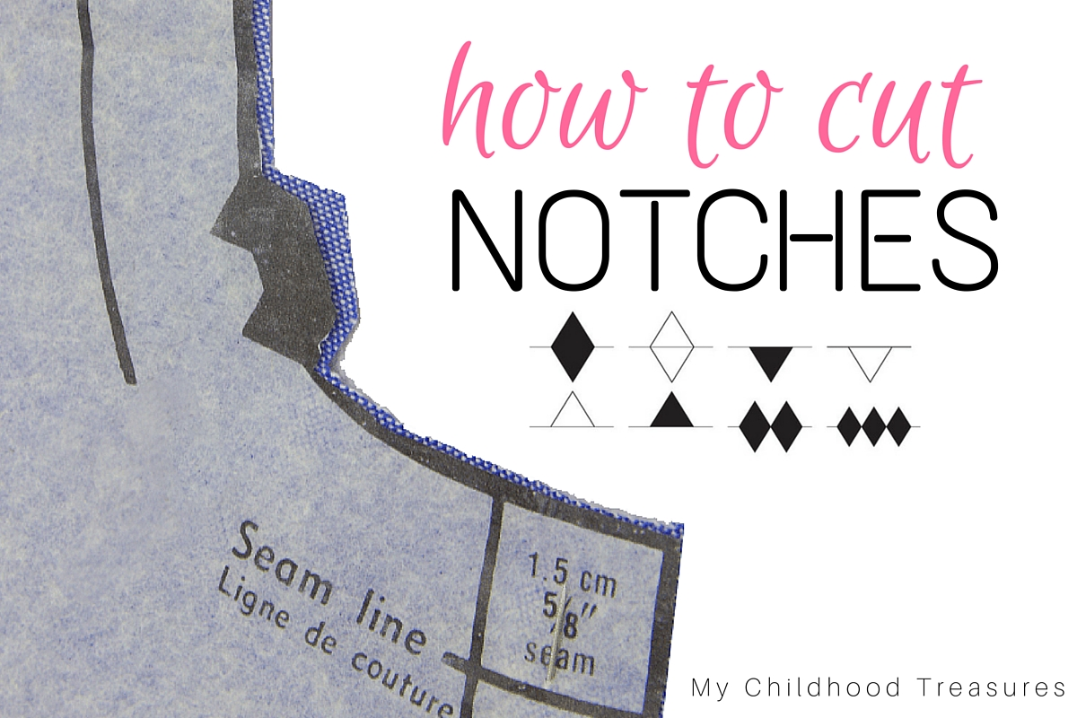 how to cut notches in fabric