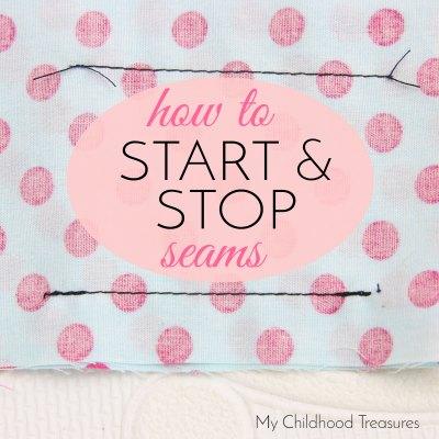 how to backstitch a seam