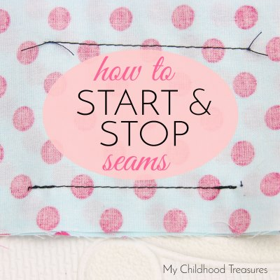 How to Back Stitch & How to Tie Ends – Sewing a Seam