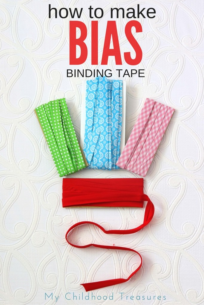 how to make bias binding tape A
