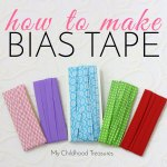 how to make bias tape