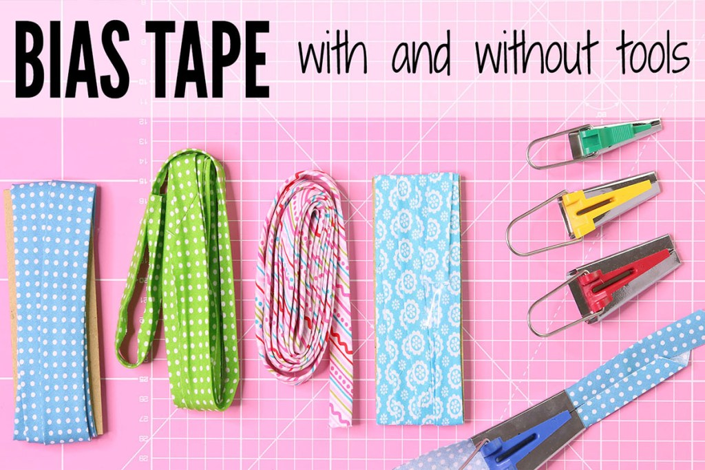 how to make bias binding, how to make bias tape