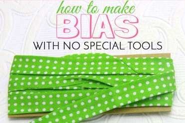 how to make bias tape