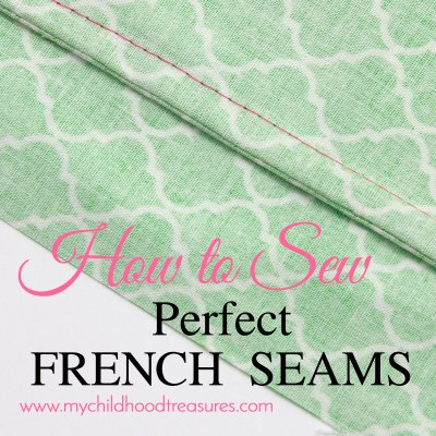 French Seams: How to Sew French Seams in 6 easy steps