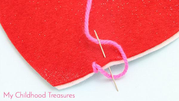 Step 5: How To Do Blanket Stitch