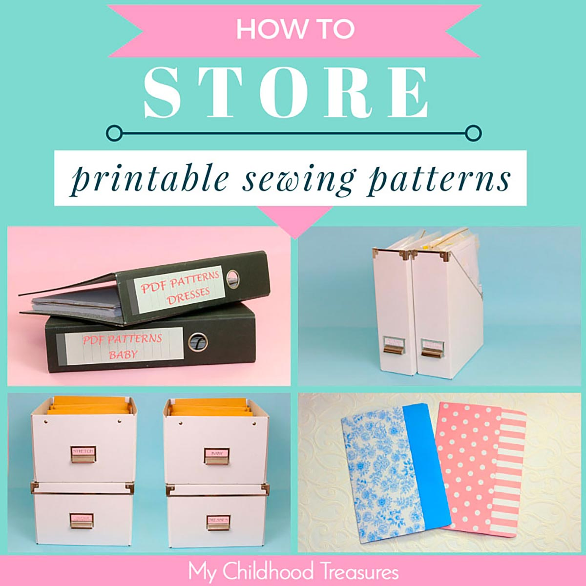 sewing pattern storage