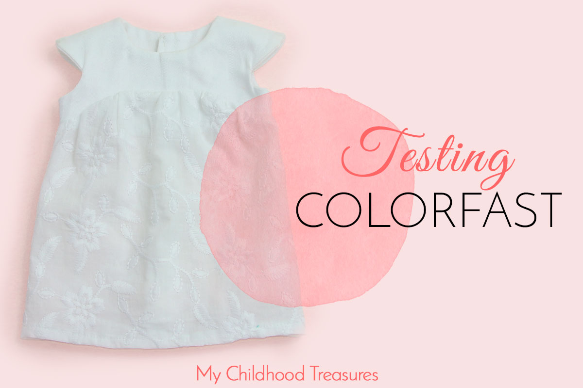 how to test for color fastness