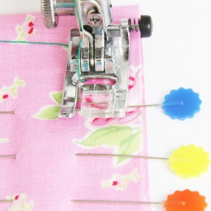 sewing over pins, can you sew over pins