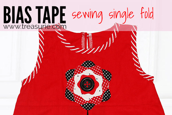 Sewing Bias Tape - Single Fold