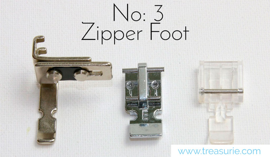 Zipper Sewing Feet