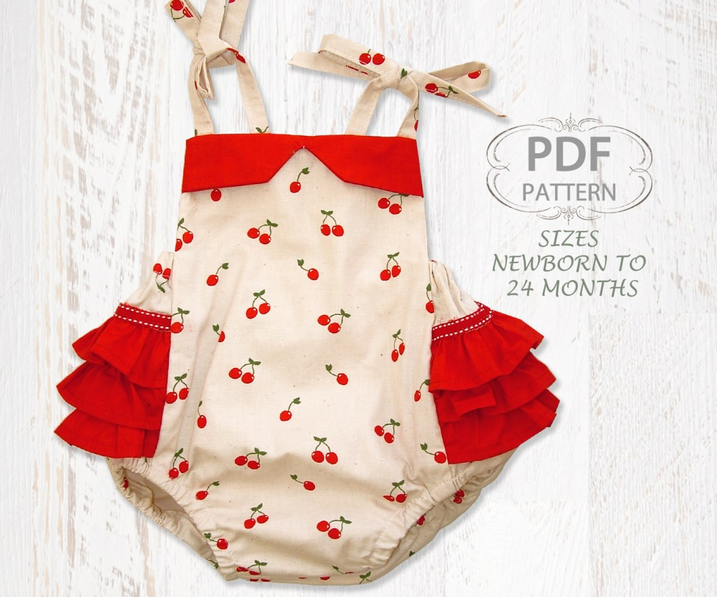 baby romper sewing pattern