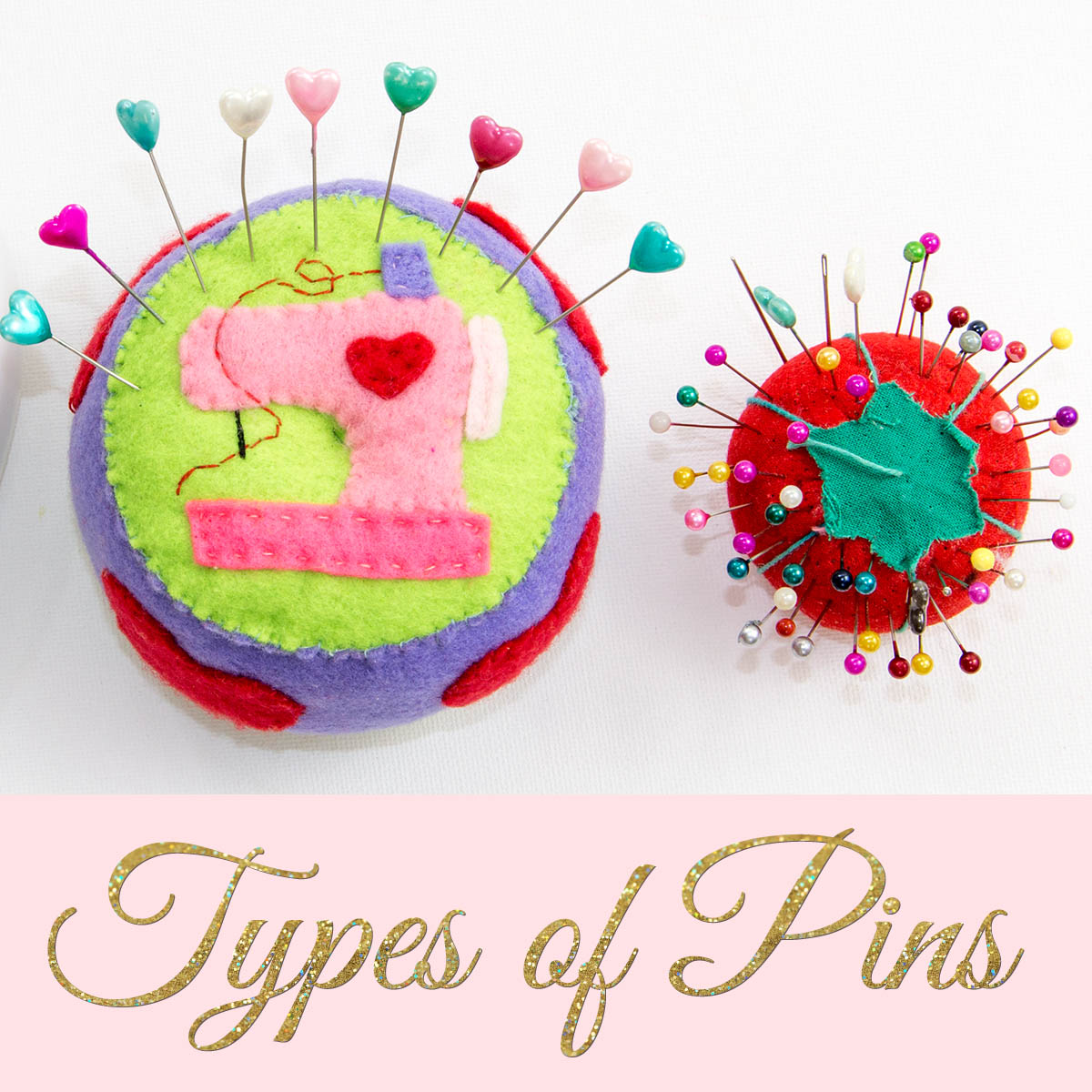 types of pins