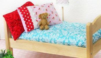 How To Make A Doll Pillow Free Doll Bedding Series Treasurie
