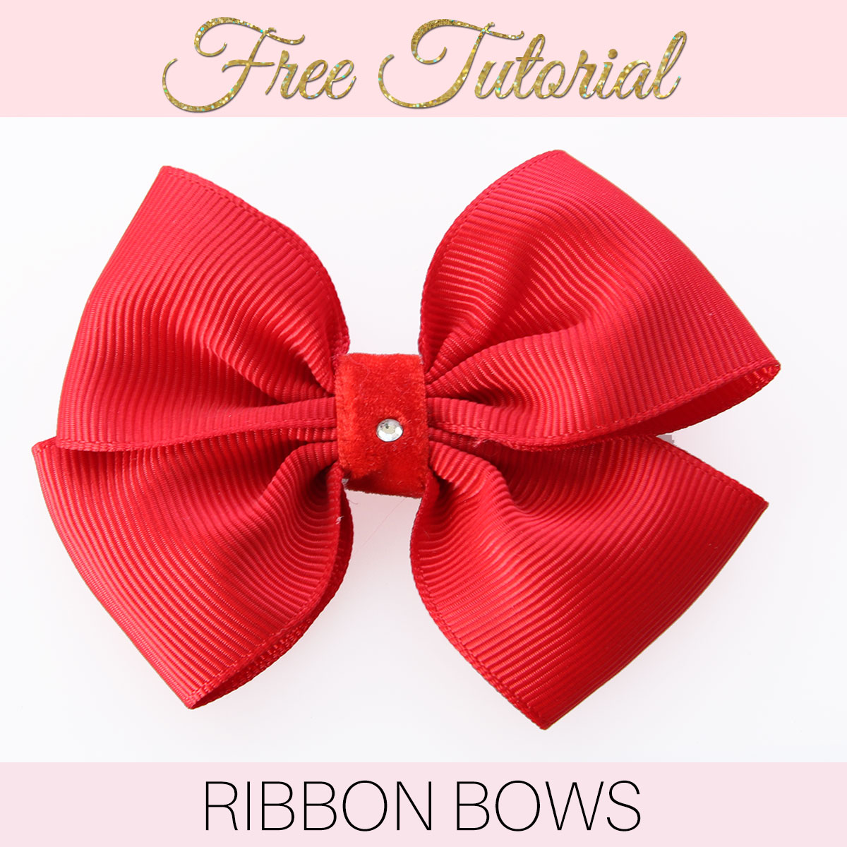 How To Create A Minimalist Bathroom: How To Make A Ribbon Bow: EASY Double Bow