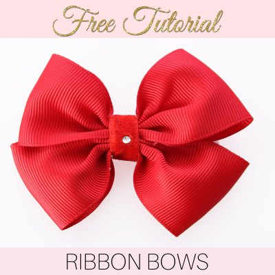 How to Make a Ribbon Bow: EASY Double Bow