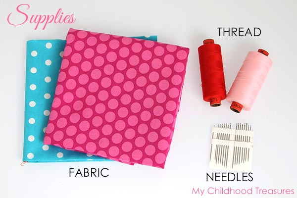 how to make fabric bows supplies