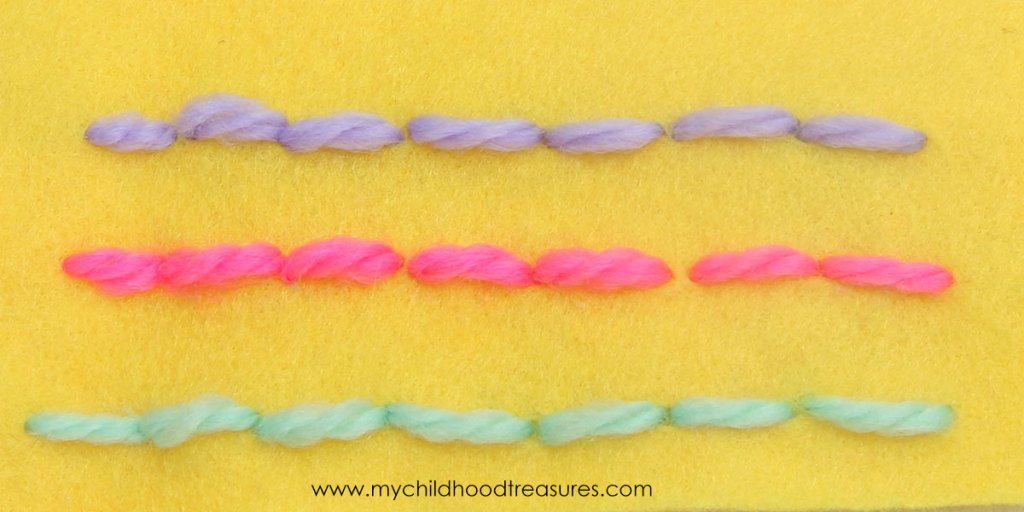 how to back stitch