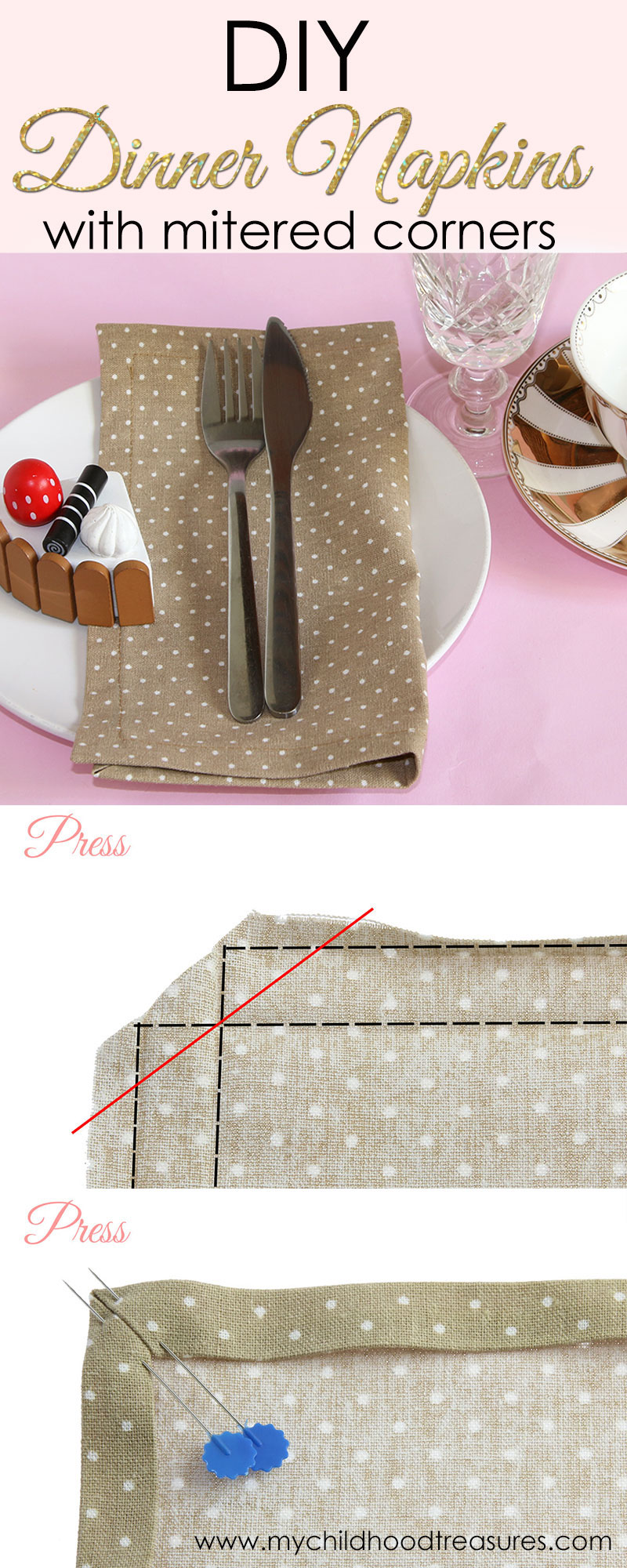 how to make napkins