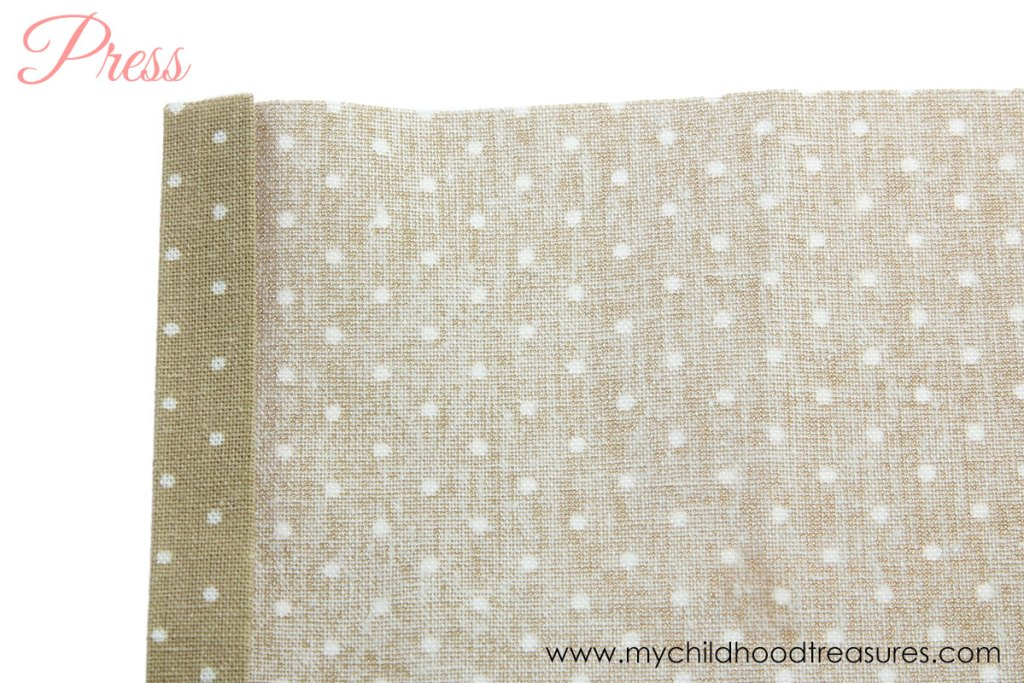 How to Make Napkins: DIY Fabric Napkins with Mitered Corners |TREASURIE