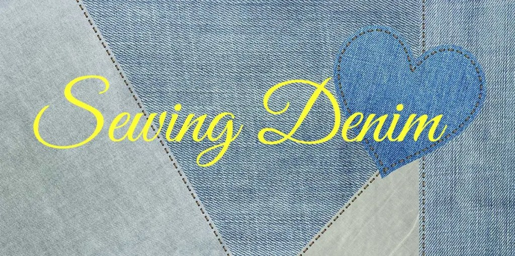 sewing denim