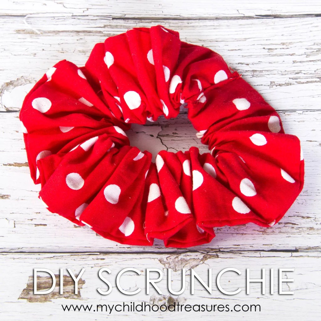 how to make a scrunchie