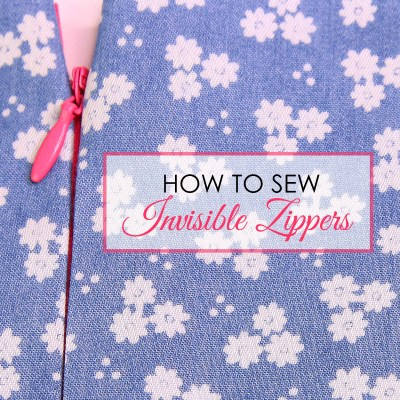 How to Sew an Invisible Zipper – Easy Step by Step