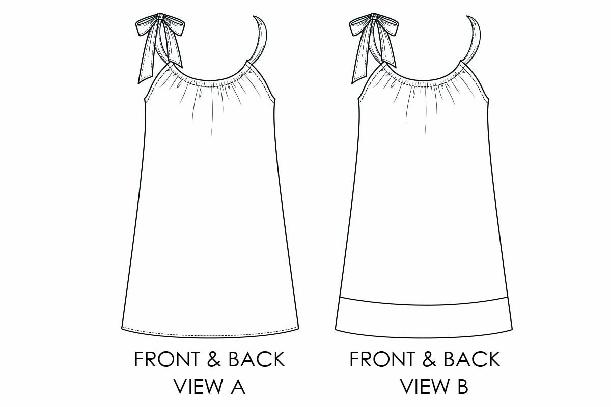 photograph about Free Printable Pillowcase Dress Pattern identified as Pillowcase Gown Practice - Totally free Costume Behavior for Gals