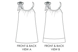 Pillowcase dress pattern free dress pattern for girls for Armhole template for pillowcase dress
