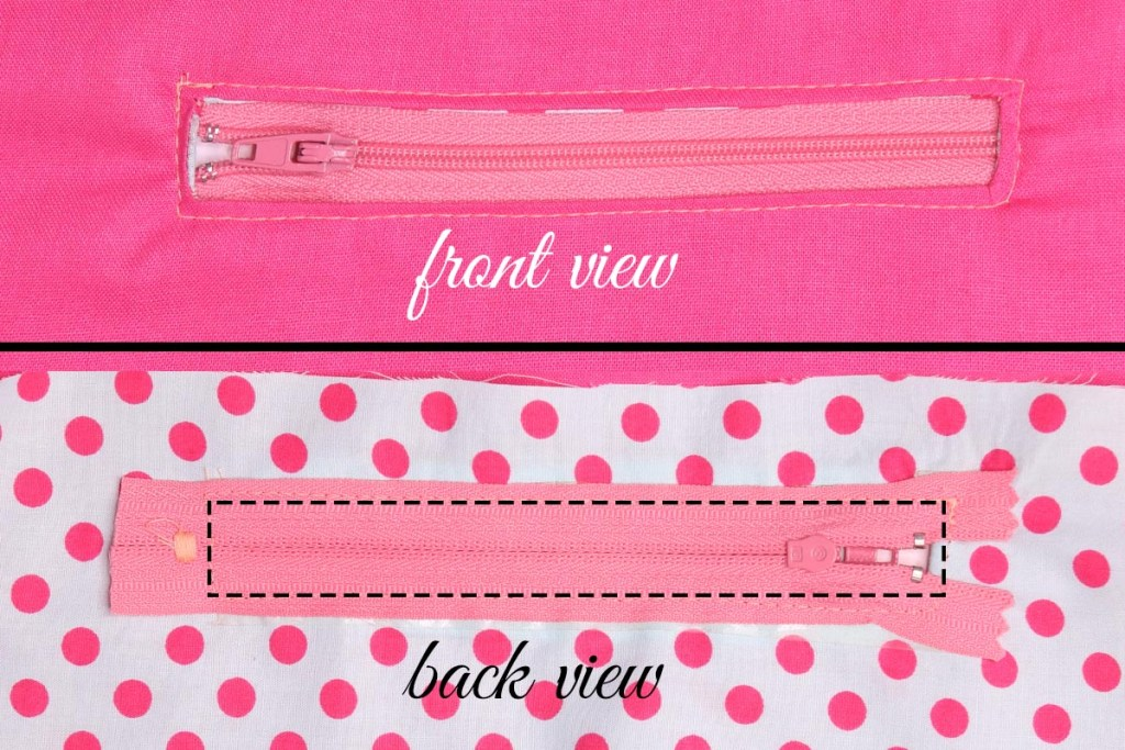 How To Sew A Zipper Pocket Great For Bags And Clutches