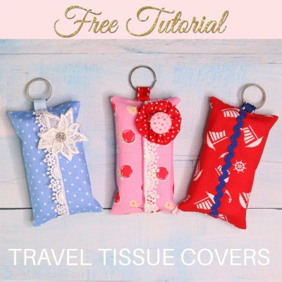 Tissue Cover Pattern: Free Pattern to Sew