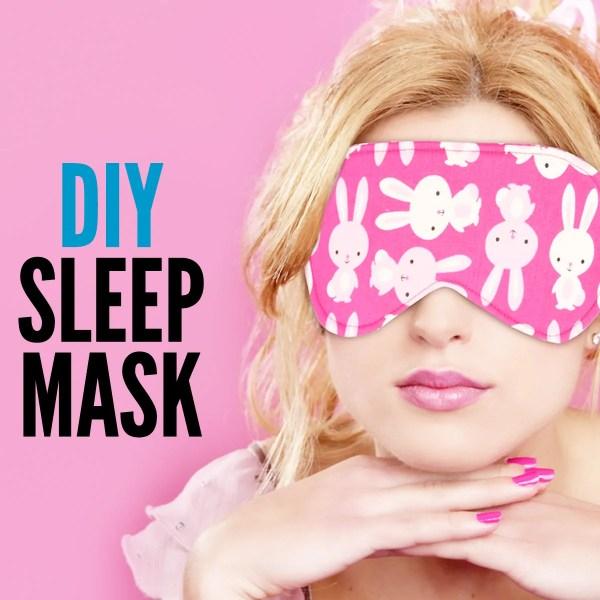 DIY Sleep Mask – Easy Tutorial With Free Pattern