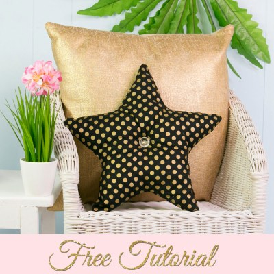 Star Pillow Pattern – Free Pattern Template