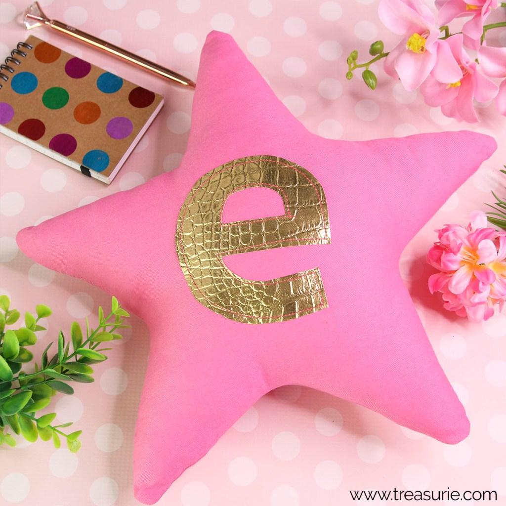 star pillow pattern