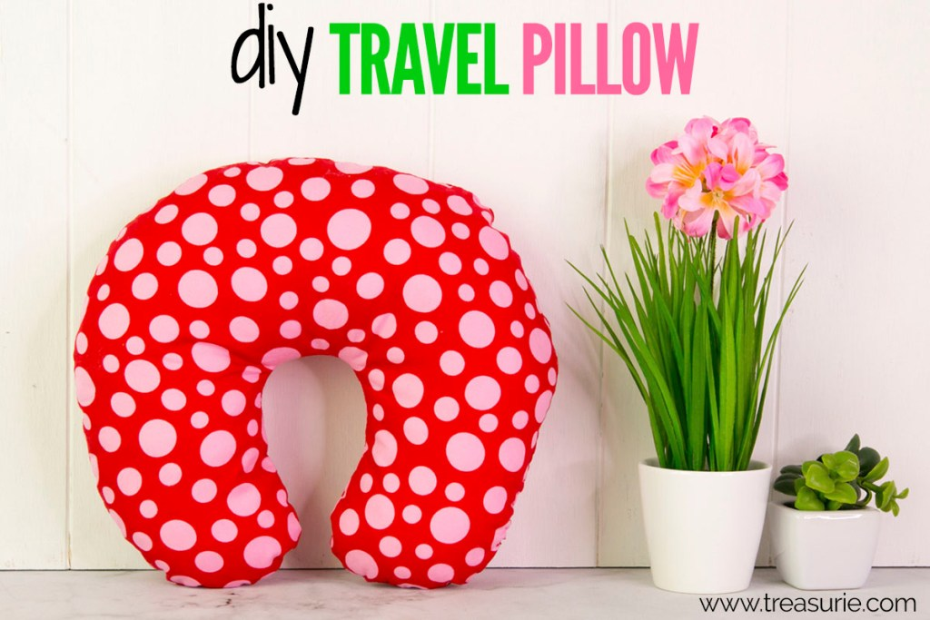 diy travel pillow