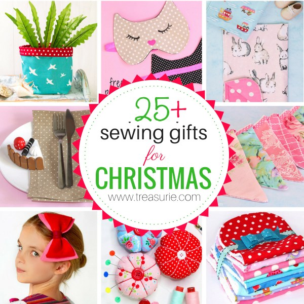 Sewing Gifts for Christmas: {25+ of the Best Ideas}