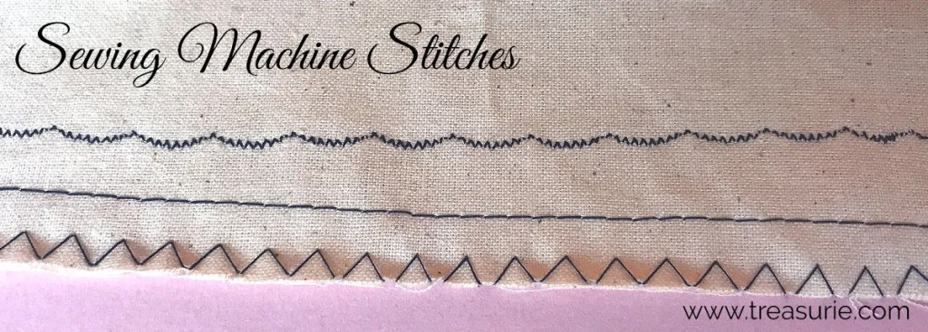sewing machine stitches