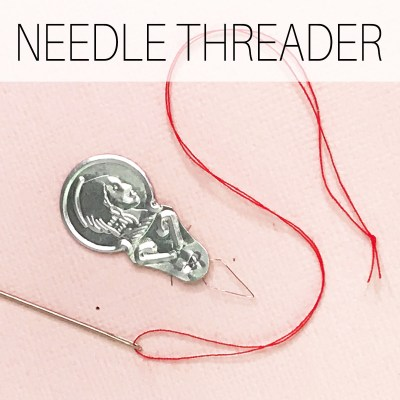 How to Use a Needle Threader | Step by Step