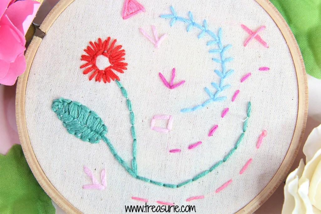 straight stitch