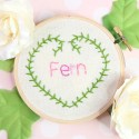 Fern Stitch | Embroidery Tutorial