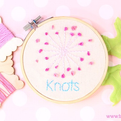 French Knots | Embroidery Tutorial