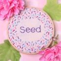 Seed Stitch Embroidery (Rice Stitch) Tutorial