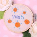 Web Stitch | Embroidery Tutorial