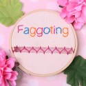 Faggoting Embroidery | Twisted Faggoting