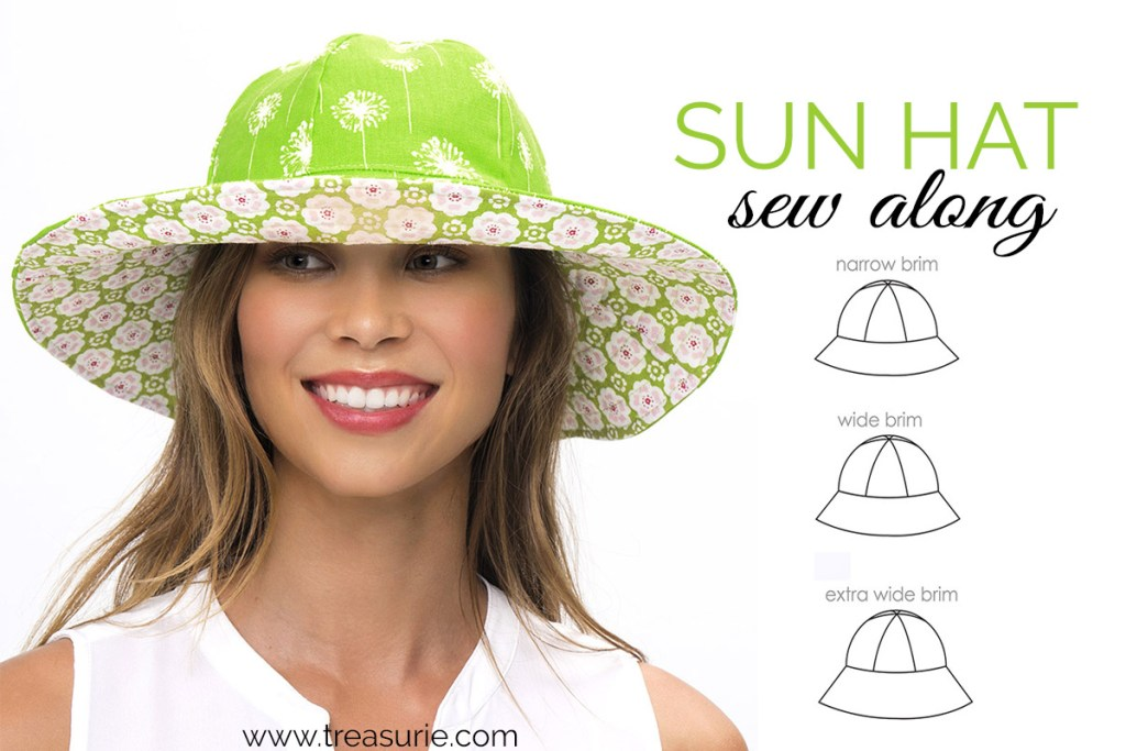How To Make A Hat Sunhat Pattern Sew Along Treasurie