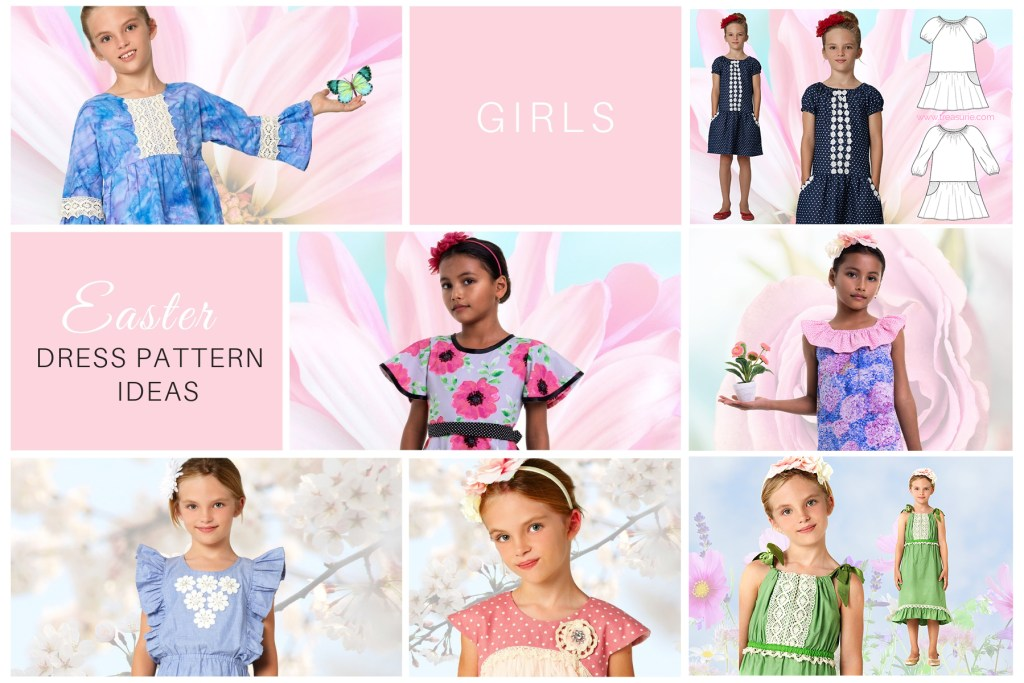 girls easter dress pattern ideas
