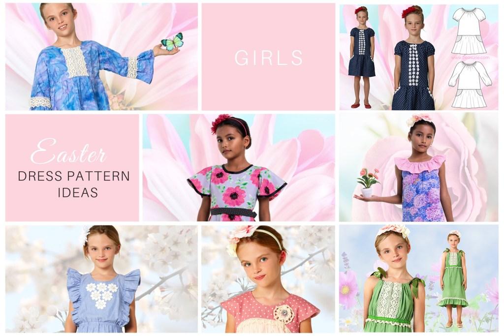 girls easter dress pattern ideas