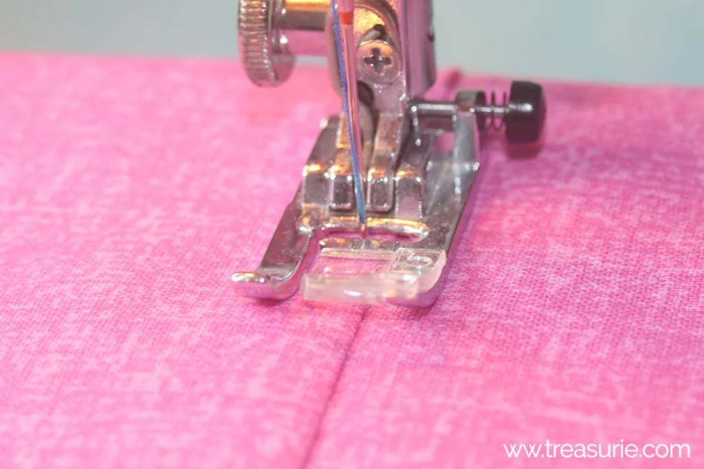 stitch edge stitch with regular foot