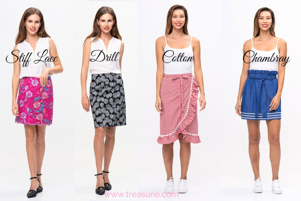 Stiff fabric examples